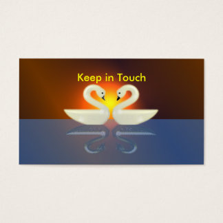 Swans - Keep in Touch Business Card