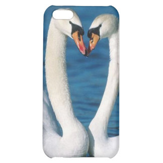 Swans Love , Iphone 4/4S HArd Shell Case iPhone 5C Covers