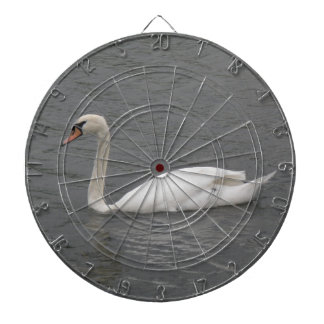 Swans on the River Dart Board