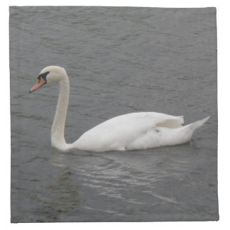 SWans on the River Napkin