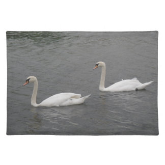SWans on the River Placemat