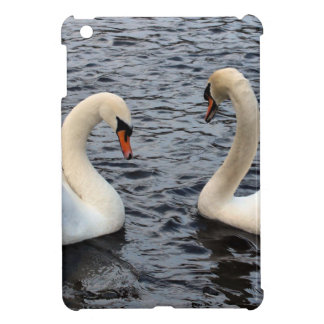 Swans on water cover for the iPad mini