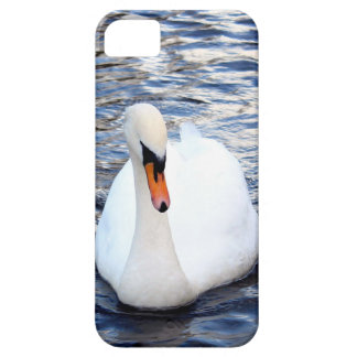Swans on water iPhone 5 cases
