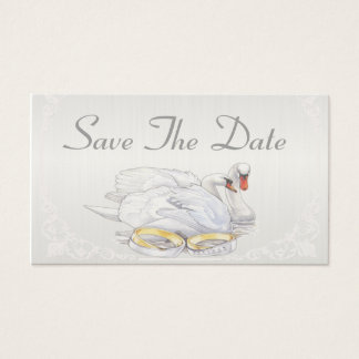 Swans - Save The Date Card