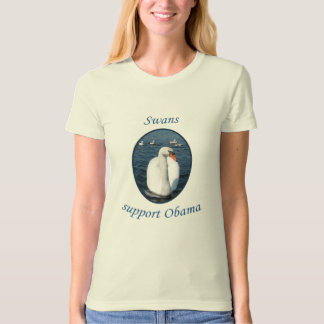 Swans Support Obama T-Shirt