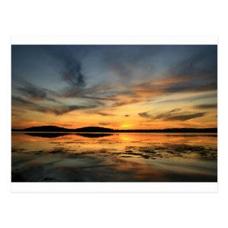 Swansea Sunset Postcard