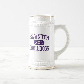 Swanton - Bulldogs - High School - Swanton Ohio Beer Stein
