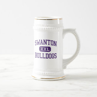 Swanton - Bulldogs - High School - Swanton Ohio 18 Oz Beer Stein