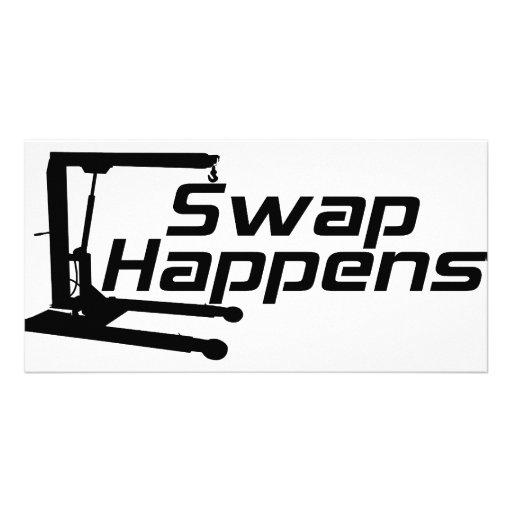 Swap Happens Picture Card