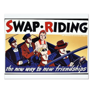 Swap.Riding, The New Way To New Friendships Invites