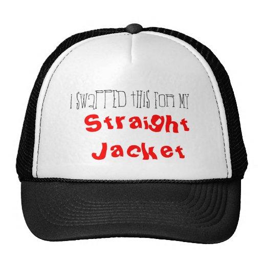 Swapped 4 straight jacket trucker hat