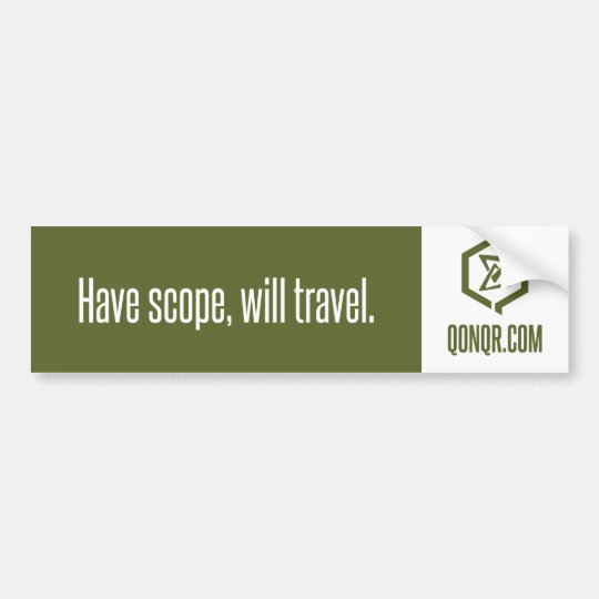 Swarm Scope Travel Bumper Sticker