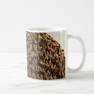 Swarming Bees Basic White Mug