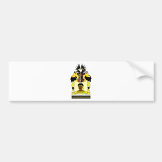 Swarte Coats of Arms Netherlands Europe Bumper Sticker