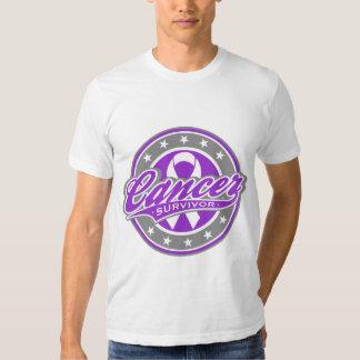 Swash Logo Pancreatic Cancer Survivor Tees