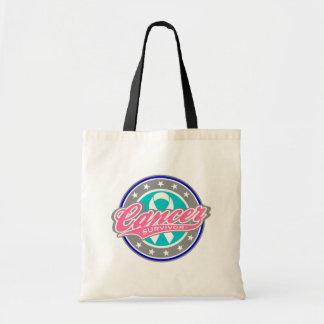 Swash Logo Thyroid Cancer Survivor Bags