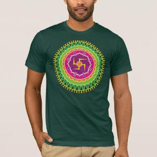 Swastika Pattern T-Shirt