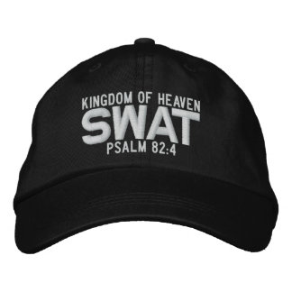 SWAT Custom Baseball Cap