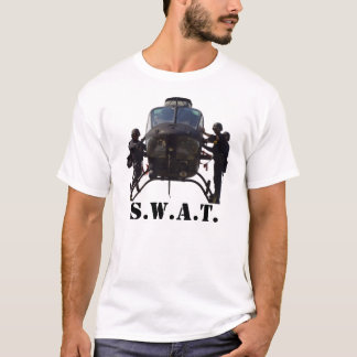 SWAT Helicopter, S.W.A.T. Kimber 1911 Pistol T-Shirt