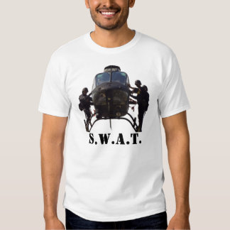 SWAT Helicopter, S.W.A.T. Kimber 1911 Pistol Tee Shirts