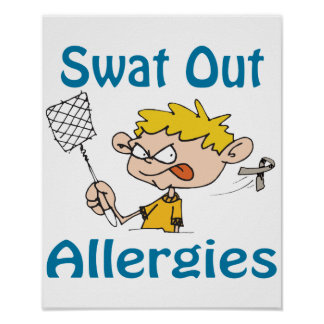 Swat Out Allergies Poster