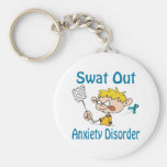 Swat Out Anxiety-Disorder Keychain