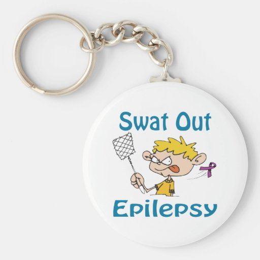 Swat Out Epilepsy Keychain