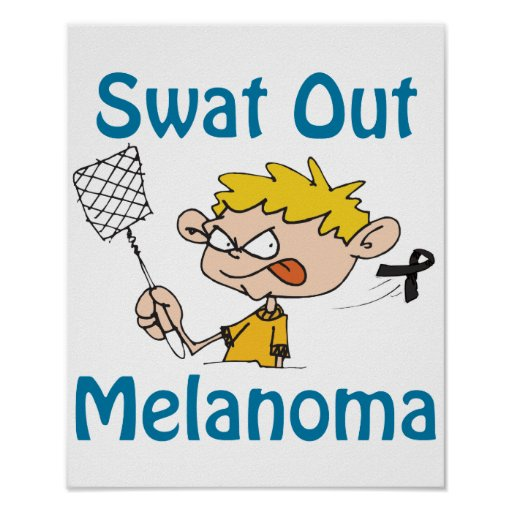 Swat Out Melanoma Poster