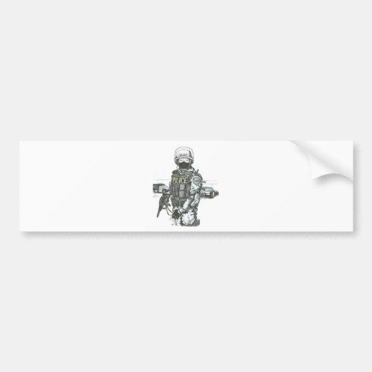 SWAT_Police_Officer Bumper Sticker