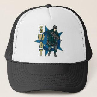 SWAT Police Officer Trucker Hat