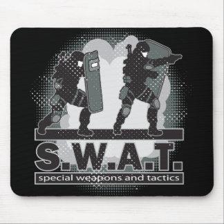 SWAT Team Entrance Mouse Mat