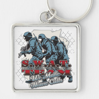 SWAT Team House Calls Key Ring