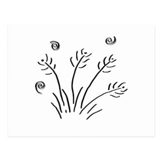 Swaying Grass - 02 nd Postcard