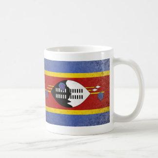 Swaziland Basic White Mug