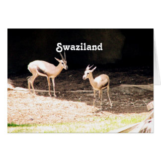 Swaziland Greeting Card