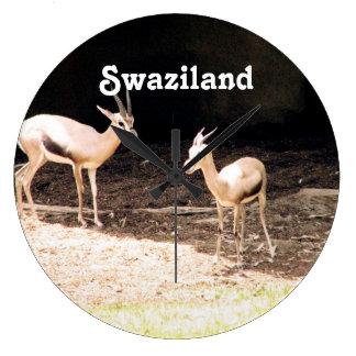 Swaziland Clock
