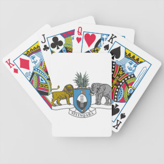 Swaziland Coat of Arms Bicycle Playing Cards