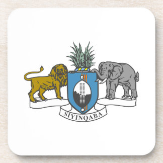 Swaziland Coat of Arms Drink Coasters