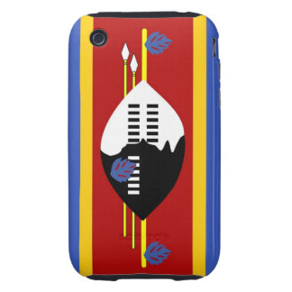 swaziland country flag case tough iPhone 3 case