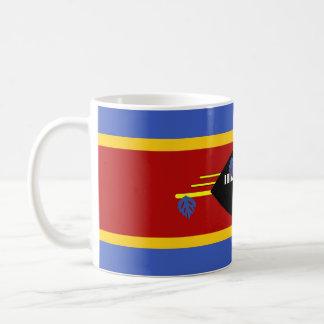 swaziland country long flag nation symbol coffee mug