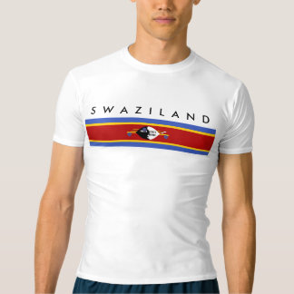 swaziland country long flag nation symbol T-Shirt