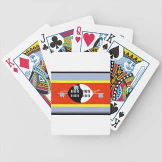 Swaziland Flag Bicycle Playing Cards