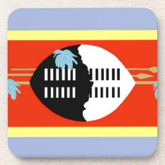 Swaziland Flag Coasters