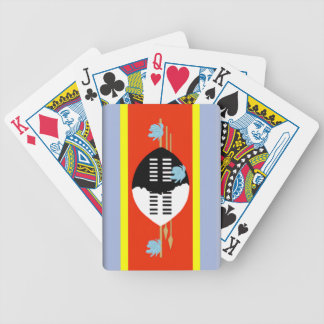 Swaziland Flag Deck Of Cards