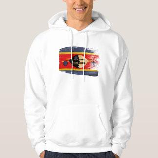 Swaziland Flag Hoodie