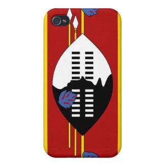 Swaziland flag iPhone 4 case