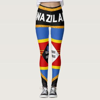 Swaziland Flag Leggings
