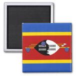 Swaziland Flag Magnet