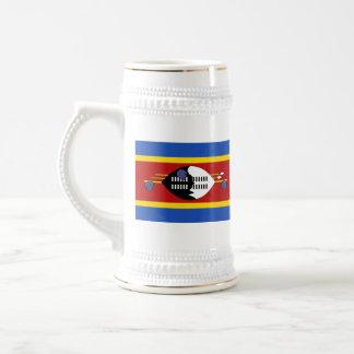 Swaziland Flag ~ Map Mug