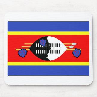 Swaziland Flag Mouse Mat